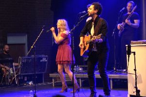 Headliners The Shires had the whole venue jumping.