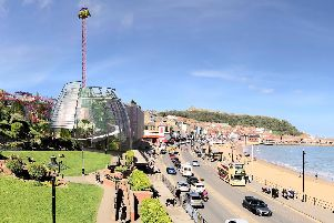 An artist's impression of the proposed Flamingo Land Coast attraction.
