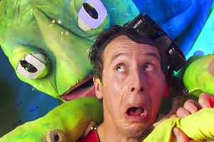 Can Charlie fight off the giant octopus in Mr Shell's Seaside Spells? Find out at PAC on Wednesday 7 August!