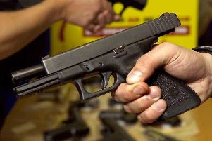 The firearms surrender is set to start on Saturday and run for two weeks