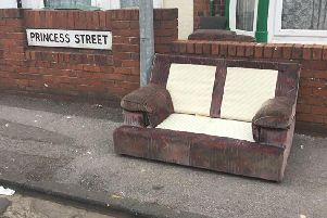 Fly tipping in Bridlington. Image: Peter Davison
