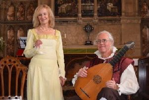 Jenny Hill and Simon Nisbett will be performing on Friday, August 2.