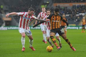 Fraizer Campbell in action for Hull City. PIC: Tony Johnson.