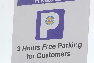 Restrictions are now in place in many private car parks in Blackpool