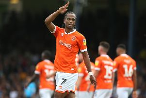 Delfouneso opened his account for the season with two goals in the 3-1 win at Southend