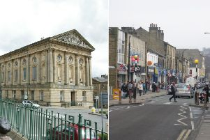 Todmorden and Brighouse town centres