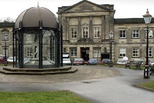 New vision - The former Harrogate Borough Council offices at Crescent Gardens.