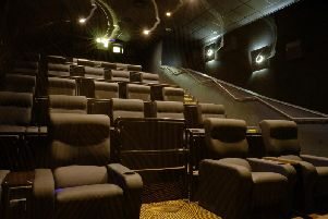 What the VIP screen at Chorley's new Reel Cinema is expected to look like