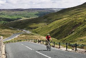 The iconic Buttertubs which will feature on the Elite Men's Road Race. Picture: UCI.