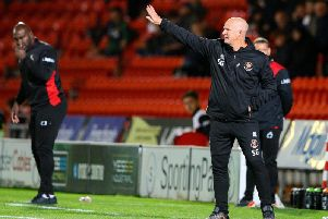 Simon Grayson dropped Blackpool's two top goalscorers in a selection shock at Doncaster