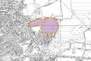 The proposed site of the rejected development on Water Lane.