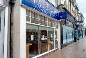 Is James Street in Harrogate about to get a new shop is the question.