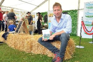 TV vet Julian Norton at the Great Yorkshire Show. Picture Tony Johnson.
