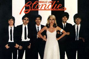 The classic cover of multi-million selling hit Blondie album Parallel Lines.