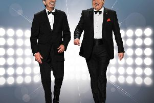 Coming to Harrogate soon - Comedy legends Des O'Connor and Jimmy Tarbuck.