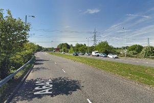 The A62 has been closed due to an ongoing police incident, Highways England says.