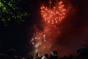 These are all the fireworks events in the Harrogate district.
