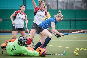 Harrogate Ladies 1s beat City of York 1s at Ainsty Road. Picture: Caught Light Photography