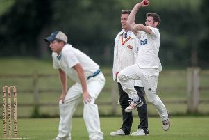 Dan Marston's Helperby side continue to lead the way in Theakston Nidderdale Division One. Picture: Caught Light Photography