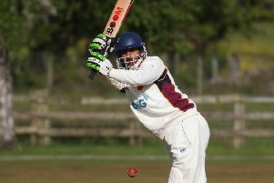 Mustahsan Ali Shah smashed a stunning century to help Bilton secure a derby success over Beckwithshaw. Picture: Caught Light Photography