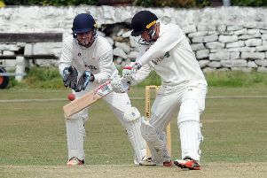 Cameron Martin narrowly missed out on a half-century as Follifoot were beaten by Burley-in-Wharfedale