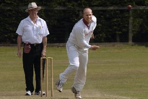 Seven wickets for Eddie Myers helped Alne get the better of Killinghall in Division Two of the Theakston Nidderdale League