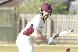 Lewis Mallinson struck a half-century as Bilton beat Horsforth. Picture: Adrian Murray