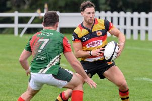 Harrogate RUFC were edged out at home by Billingham. Picture: Richard Bown