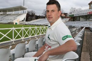 Steven Mullaney, who took over as captain at Trent Bridge from Chris Read. (PHOTO BY: Jason Chadwick)