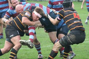 Action from Harrogate Pythons' Yorkshire Three clash with Rotherham Phoenix
