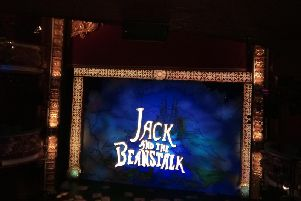Curtain's up - Harrogate Theatre launched this year's panto, Jack and the Beanstalk this week.