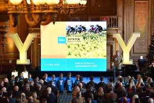 The 2019 Tour de Yorkshire Route Presentation, Leeds Civic Hall.' Picture: Simon Wilkinson/SWpix.com.