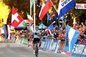 The UCI Road World Race Championship comes to the district next year.