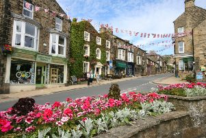 The wonderful displays of flowers earned Pateley the Best Village accolade in the Yorkshire in Bloom competition.