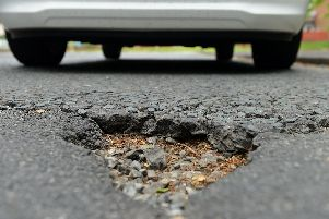 Thousands of pounds will be spent on fixing potholes across the region.