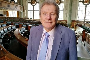 Geoff Driver has called for more - and fairer - funding for councils