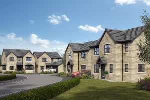 Artist's impression of the Spring Meadows development.