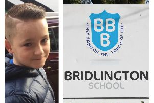 Taylor Tolley was a student at Bridlington School