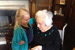 A heartwarming link: Oatlands Infant School and Larchfield Manor care home.