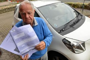 Edwin Peterson is delighted he no longer has to pay the fine.
