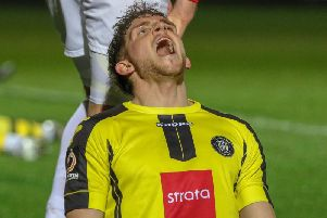 Harrogate Town have conceded more than their fair share of late goals during the last two months. Picture: Matt Kirkham