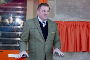 Sir Gary Verity at the official opening of the much-needed headquarters extension. Image: Stephen Garnett Photography.