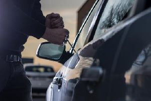 There were a total of 40 reports of car crime in the Harrogate district in December 2018