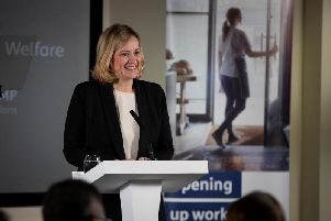 Secretary of State for Work and Pensions Amber Rudd.