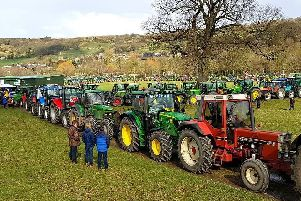 More than 300 tractors made an appearance at Nidderdale Agricultural Showground.