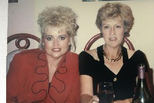 Tracey with her mum, Wendy.