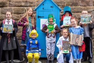 New Park Primary Academy pupils start a new chapter thanks to the mini library.