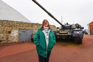 Heugh Battery Museum manager Diane Stephens