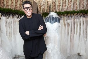Gok Wan hosts Say Yes to the Dress Lancashire which airs Friday March 22