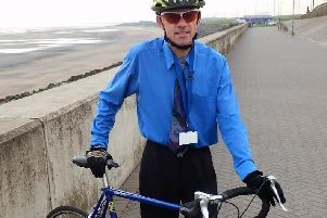 Tony Davison of Hartlepool Active Travel Hub